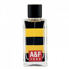 Abercrombie & Fitch  |  Yellow Cologne