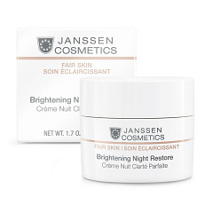 Janssen  |  ����������� ������ ���� Brightening Night Restore