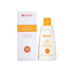 Janssen  |  Sun Secrets Sun Shield SPF 15 для лица и тела