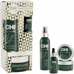 CHI  |  TEA TREE OIL Tranquil Treatment Trio ����� ��� ������� ����� �� ������ ����� ������� ������