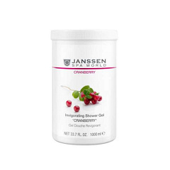 "Janssen  |  Invigorating Shower Gel ""Cranberry"" Гель для Душа Клюква"